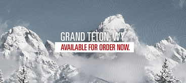 Grand Teton Topographic Map